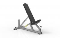 Edge Multi Adjustable Bench w/Wheels