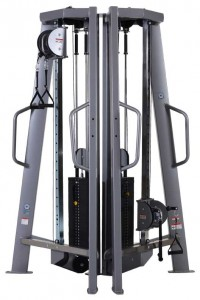 Nautilus F3 Adjustable Tower Pulley System - Dual Stack