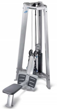 Nautilus Dual Pulley Row Tower